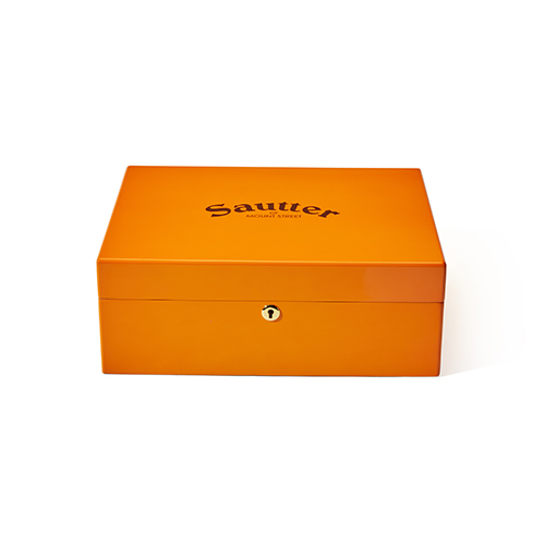 Sautter - 50th Anniversary Limited Edition Humidor Orange