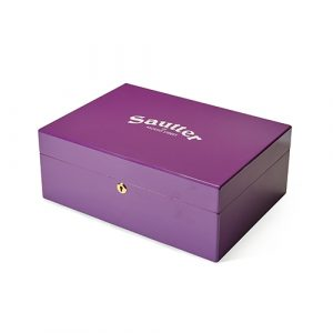 Sautter - 50th Anniversary Limited Edition Humidor Purple
