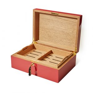 Sautter - 50th Anniversary Limited Edition Humidor Red