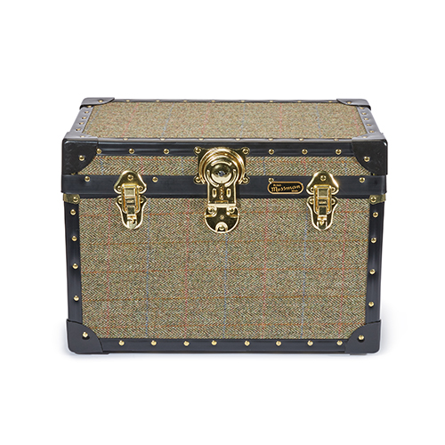 Harris Tweed Trunk