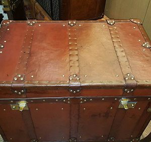 Leather Studded Trunk