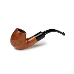 Sautter Smooth Bent Billiard Saddle Mouthpiece Pipe