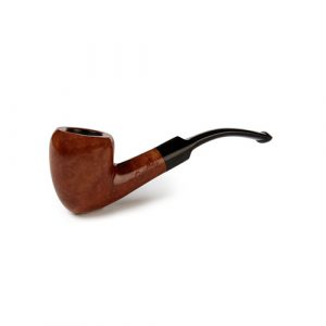 Sautter Smooth Pointed Bent Pipe
