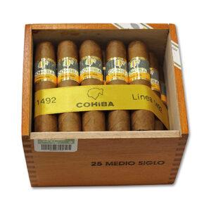 Cohiba Medio Siglo SLB Box of 25