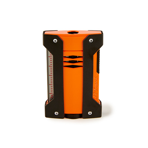 S. T. Dupont Defi-Extreme Lighter Orange & Black