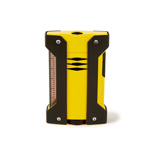 S. T. Dupont Defi-Extreme Lighter Yellow & Black