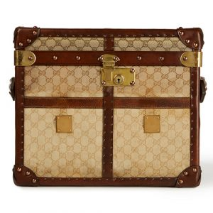 Gucci inspired vintage trunk