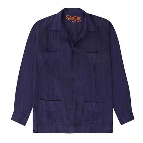 Sautter - Shirt (Navy Blue)