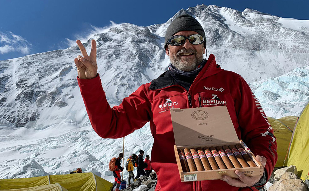 Damned Odd Place to Smoke a Cigar...