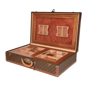 Large Sized Classic Louis Vuitton Suitcase