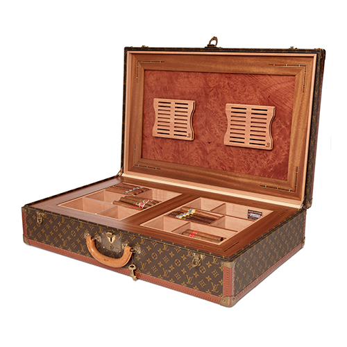Large Sized Classic Louis Vuitton Suitcase