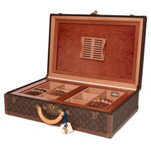 Medium Sized Classic Louis Vuitton Suitcase