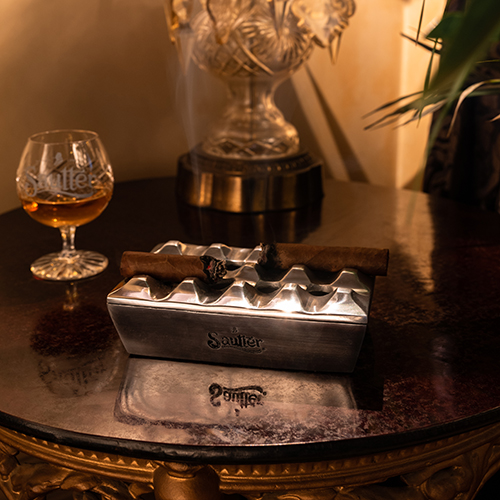 Sautter - Mini Rectangular Silver Ashtray