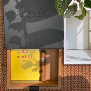 Sautter - Travel Humidor with 5 x Montecristo No.5s & 5 x Montecristo No.4s