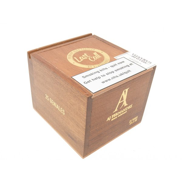 AJ Fernandez - Nicaragua - Last Call Habano Geniales (Box of 25)