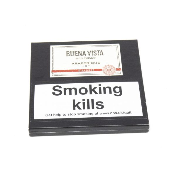 Buena Vista - Dominican Republic - Araperique Cigarros (Pack of 5 x 10)