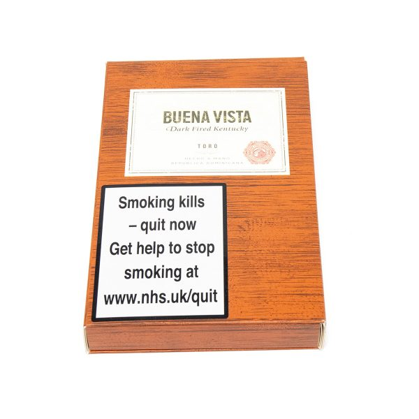 Buena Vista - Dominican Republic - Dark Fired Kentucky Toro (Pack of 5)
