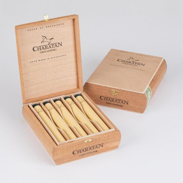 Charatan - Nicaragua - Churchill Tubos (Box of 10)