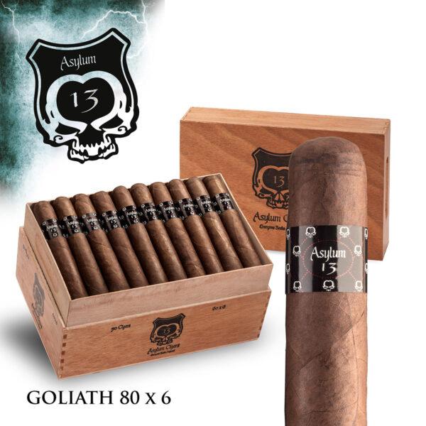 Eiroa - Nicaragua - Asylum 13 Goliath (Box of 20)