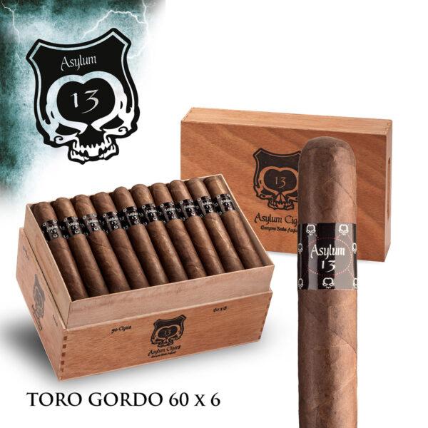 Eiroa - Nicaragua - Asylum 13 Toro Gordo (Box of 20)