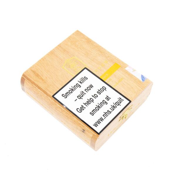 La Aurora - Dominican Republic - Leon Jimenes Connecticut Petit Corona Blond (Vanilla) (Box of 10)