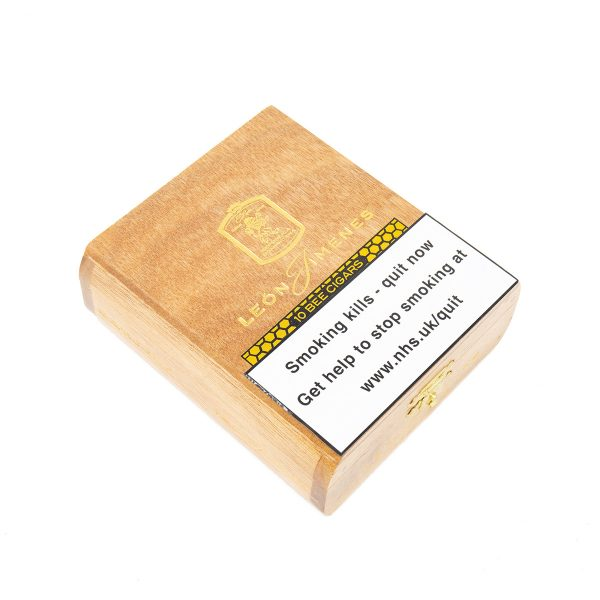 La Aurora - Dominican Republic - Leon Jimenes Connecticut Petit Corona Bee (Honey) (Box of 10)