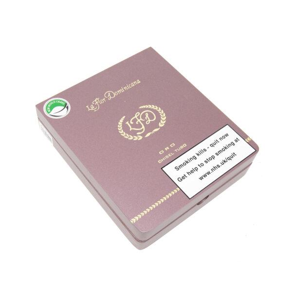 La Flor Dominicana - Dominican Republic - Oro Chisel Tubos (Box of 5)