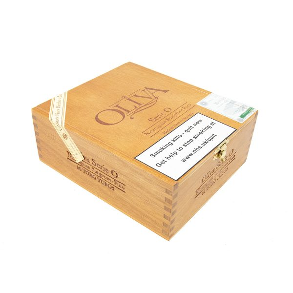 Oliva - Nicaragua - Serie O Natural Toro Tubos (Box of 10)