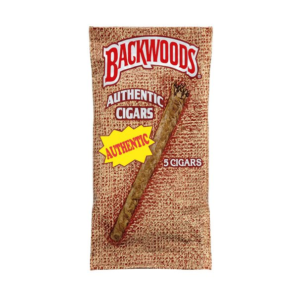 Backwoods - Authentic (Pack of 5)