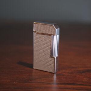 Carbon Hatched Design Flame Lighter
