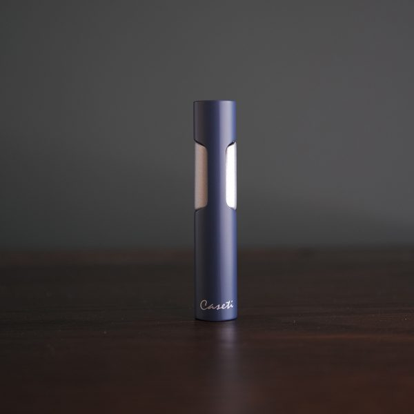 Caseti of Paris - Slim Single Torch (Navy Blue)