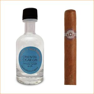 1 x Montecristo No.5 (Single cigar) & LEGGETS X Nick Hammond Oriental Cigar Gin 50ml