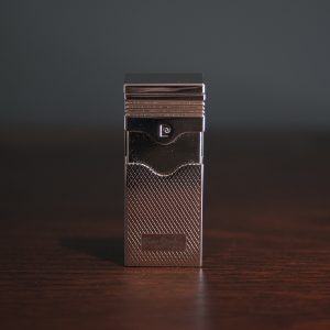 Pierre Cardin - Polished Chrome Torch Push Up Cigar Lighter