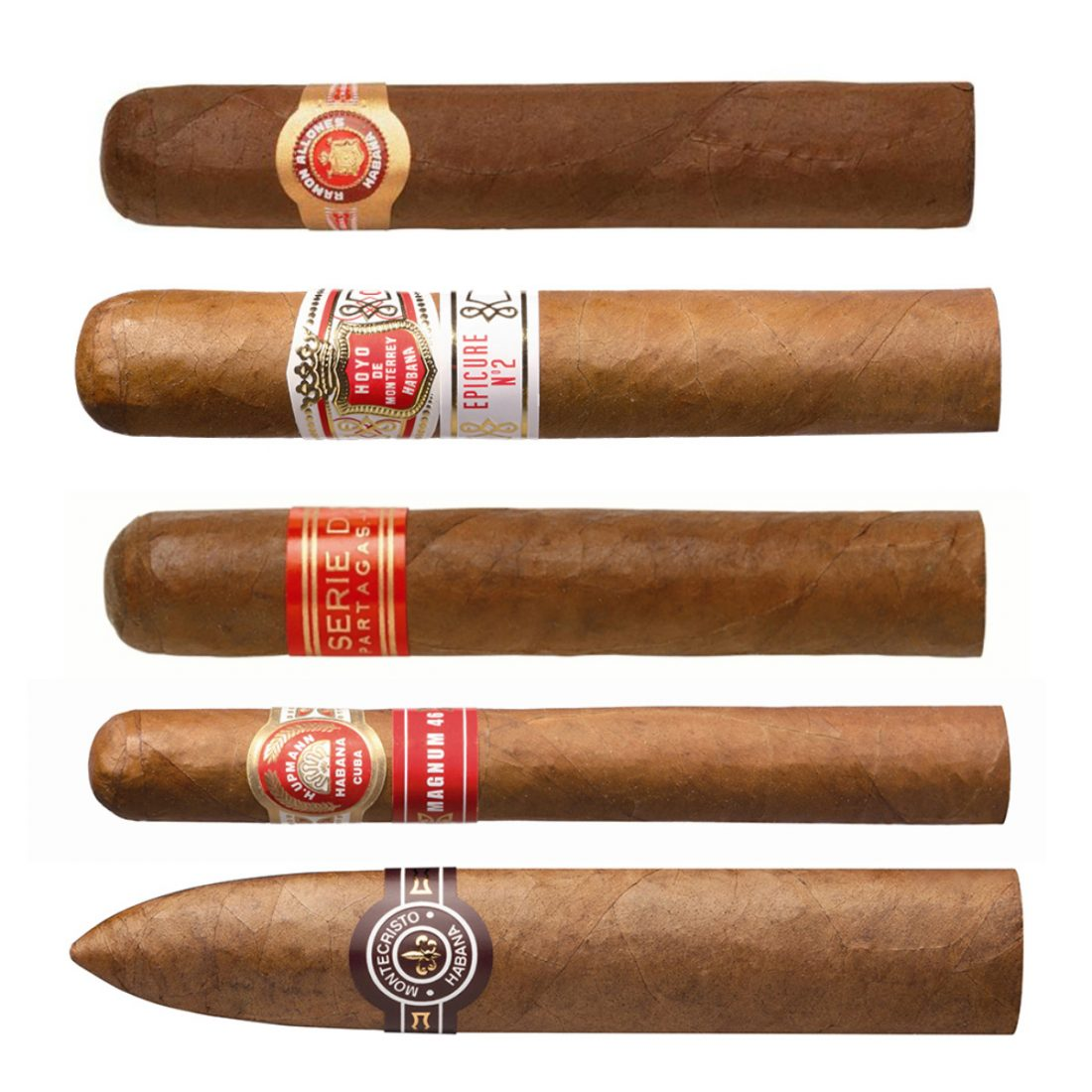 This week's Top 5 cigars from Donald D. Sutcliffe of Sutcliffe & Son