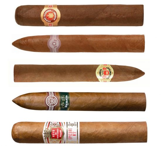 This week's Top 5 cigars from Kelly Cates