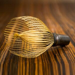 Lalani & Co. - Handmade Black Bamboo Matcha Whisk (Short)