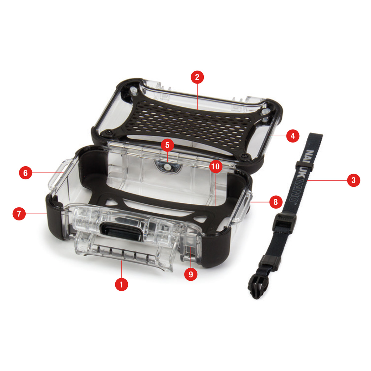Nanuk - Nano 330 Protective Case