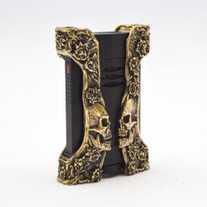 S. T. Dupont - Haute Creation Skull & Rose Defi Extreme Lighter